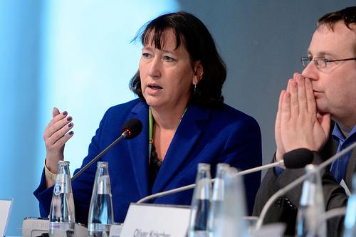 Hildegard Müller, Geschäftsführerin BDEW, Quelle Flickr